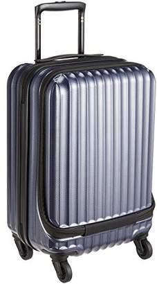 Siffler (シフレ) - [シフレ] ハードジッパースーツケース シフレ 1年保証付 保証付 30L 47 cm 3.3kg ESC2051-47 カーボンネイビー