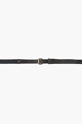 G Star G-STAR green braided leather Ridley Belt
