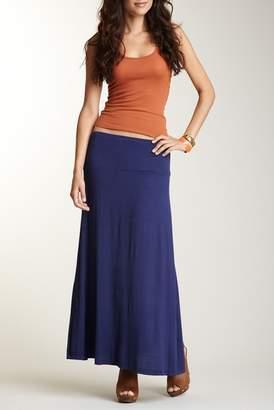 24\u002F7 Comfort Solid Maxi Skirt (Regular & Plus)