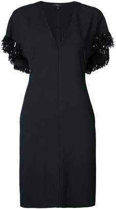 Derek Lam Embroidered V-Neck Dress