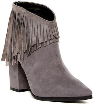 Kenneth Cole Reaction Pull Ashore Fringe Ankle Boot $149 thestylecure.com