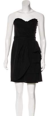 Temperley London Tiered Strapless Dress