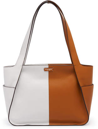 Henri Bendel Ludlow Color Blocked Tote