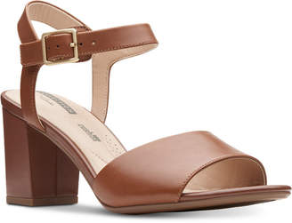 Clarks Collection Women's Deva Quest Dress Sandals Women's Shoes