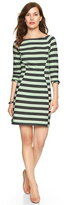 Gap Stripe jersey raglan dress