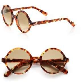 Cutler and Gross 52MM Octagonal Sunglasses
