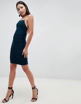 AX Paris Sqaure Neck Mini Dress