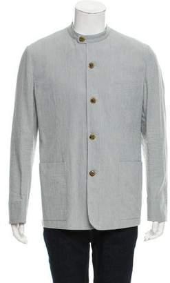Hermes Striped Twill Jacket