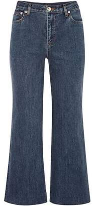 A.P.C. High-rise Flared Jeans