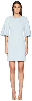 ADAM by Adam Lippes Corded Denim Sculpted Mini Dress Women's Dress