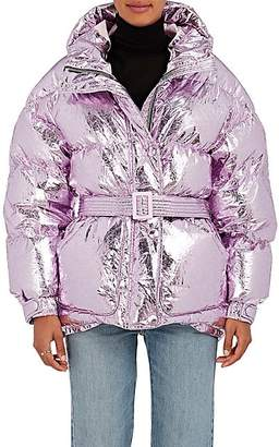 IENKI IENKI Women's Tech-Fabric Down Puffer Coat - Lilac Copper Foil