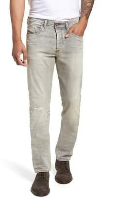 Diesel R) Buster Slim Straight Leg Jeans