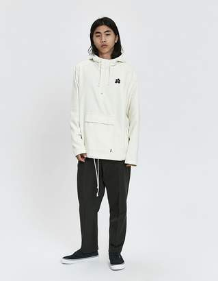 Converse Golf le Fleur Open Weave Anorak in Natural