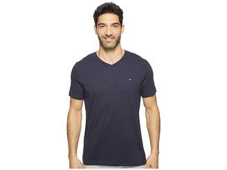 Tommy Hilfiger Short Sleeve Core Flag V-Neck Tee