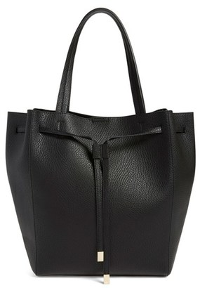Bp. Faux Leather Drawstring Tote - Black $55 thestylecure.com