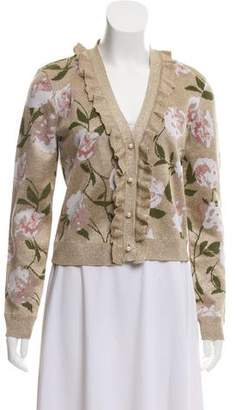 Alice + Olivia Floral Long Sleeve Cardigan w/ Tags