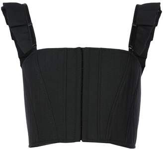 Vera Wang cropped vest top