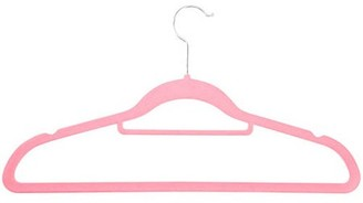 Honey-Can-Do 3-Pack Velvet Touch Suit Hanger, Pink