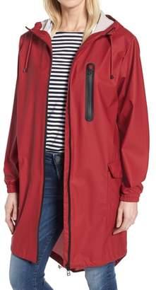 Kristen Blake Hooded Rain Topper Jacket