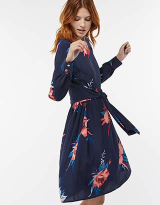 Janice Print Floral Tunic Dress