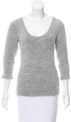 Gucci Textured Angora Sweater