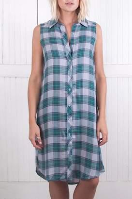The Laundry Room Lonestar Plaid Dress $197 thestylecure.com