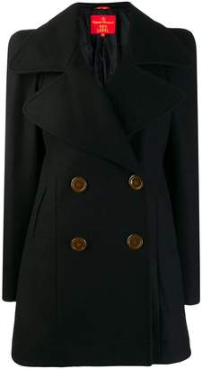 Vivienne Westwood PRE-OWNED double-breasted midi coat