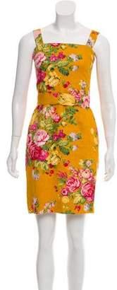 Dolce & Gabbana Bouclé Knit Mini Dress