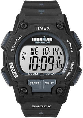 Timex Ironman Endure Mens Black Resin Strap 30-Lap Watch T5K1969J