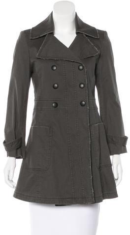 Alice + OliviaAlice + Olivia Double-Breasted Long Sleeve Coat