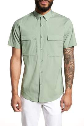 CALIBRATE Military Stretch Sport Shirt