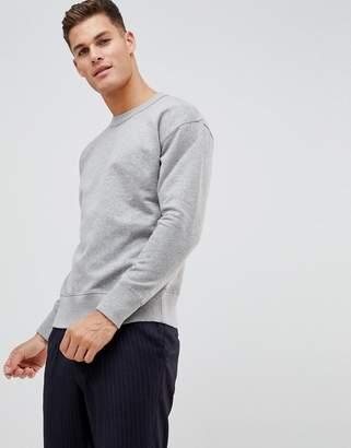 Selected drop shoulder sweatshirt