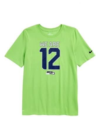 Nike Dry Hyperlocal NFL Seattle Seahawks T-Shirt