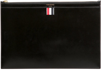 Large Smooth Leather Pouch $790 thestylecure.com