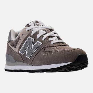New Balance Boys' Grade School 574 Core Casual Shoes