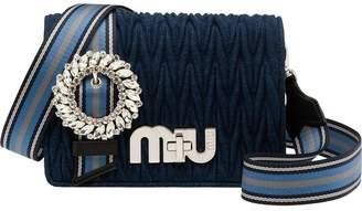 Miu Miu Matelassé Denim My Miu bag