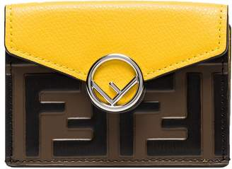 Fendi FF-embossed trifold wallet