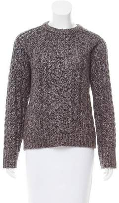 Marc by Marc Jacobs Metallic Wool-Blend Sweater