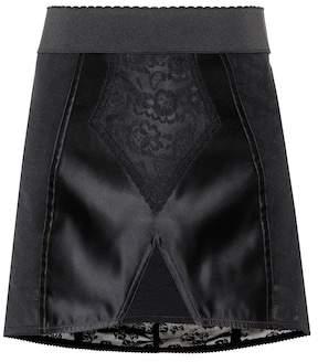 Dolce & Gabbana Lace and satin skirt