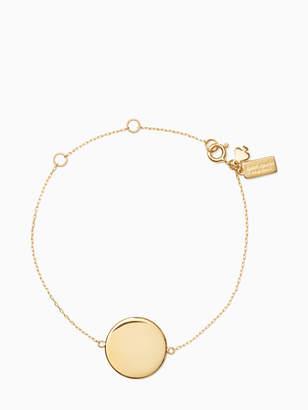 Kate Spade demi fine round line bracelet