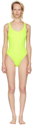 Solid and Striped Yellow The Anne-Marie Swimsuit