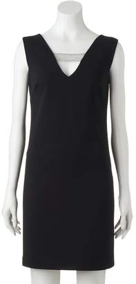 Donna Ricco Dr By Women's DR by Embellished Shift Dress