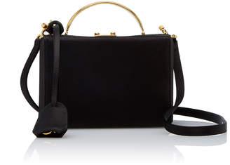 Mark Cross Mini Grace Satin Box Bag