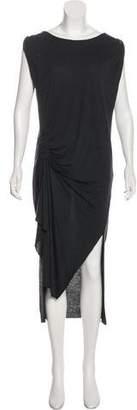 AllSaints Flores Wool-Blend Dress