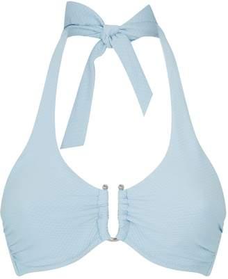 Heidi Klein Textured Halterneck Bikini Top