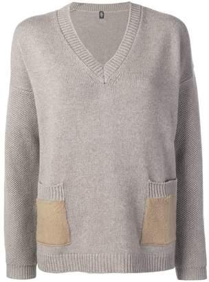 Eleventy v-neck knit sweater