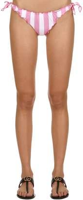 MC2 Saint Barth Striped Lycra Bikini Bottoms