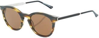 Thierry Lasry Boundary 192 Plastic/Metal Round Sunglasses