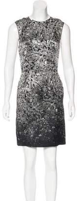 Lanvin Jewel Print Mini Dress