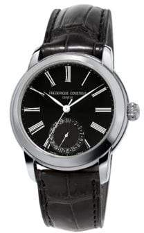 Frederique Constant Classics Manufacture Automatic-Self-Wind 5ATM Stainless Steel Watch